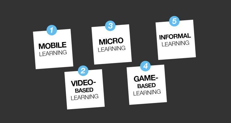 Kurumlar tarafından tercih edilen en popüler 5 öğrenme trendi